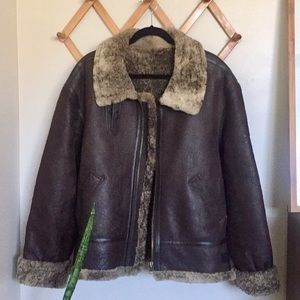 TYPE B-3 JUNGWOO FUR MILITARY AIR FORCE Jacket XL